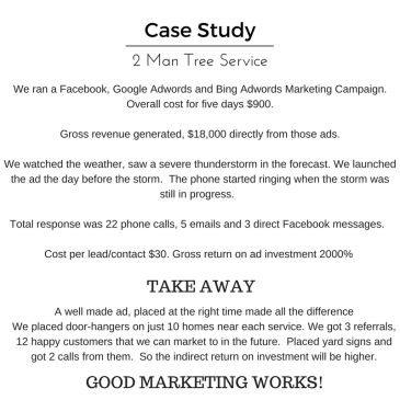 Case Study Tree Service
