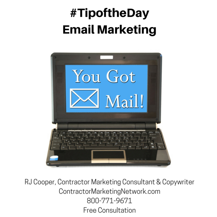 #TipoftheDayEmail Marketing