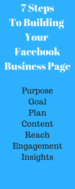 7 StepsTo Building Your Facebook Business Page