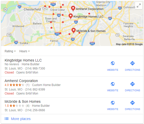 home builders st louis mo Google Search