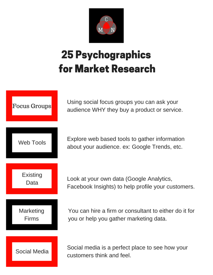 25 Psychographics for Market Research 4
