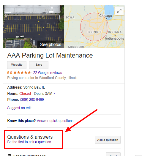How to use Q & A on Google My Business