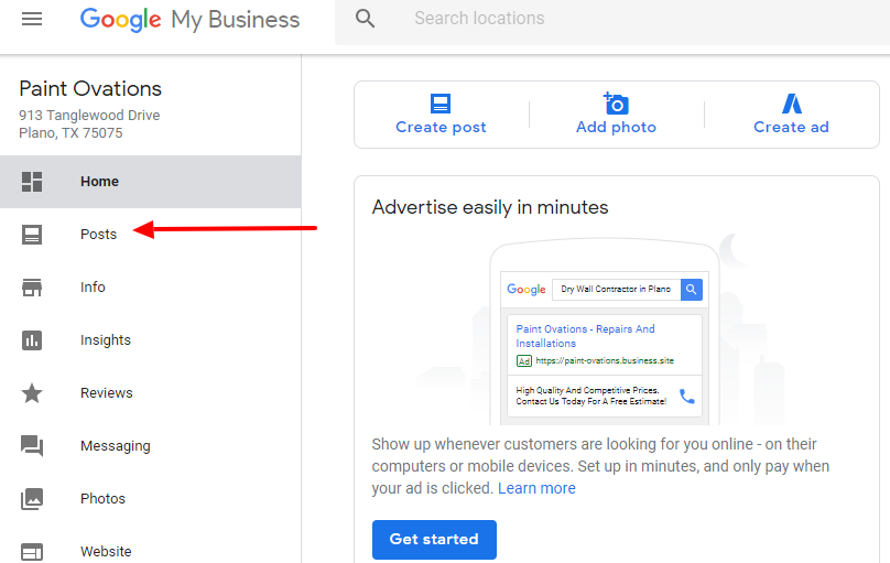 How to use Google My Business Dashboard